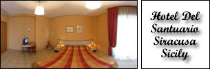 Virtual tours of hotels in sicily and italy for Hotel del santuario siracusa