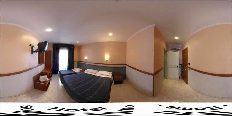 Hotel Soggiorno Blu Rome - Virtual Tour