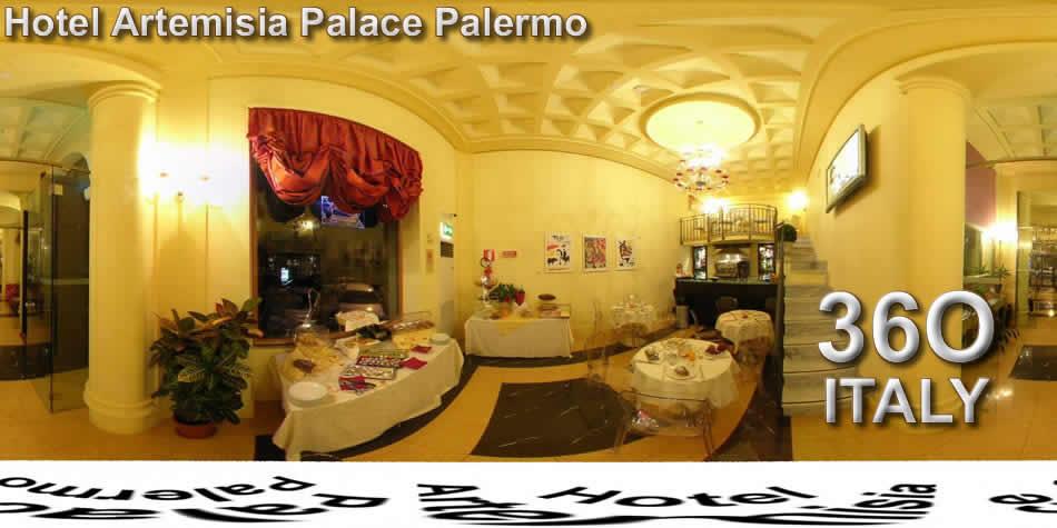 Hotel artemisia palace palermo virtual tours for Design hotel palermo